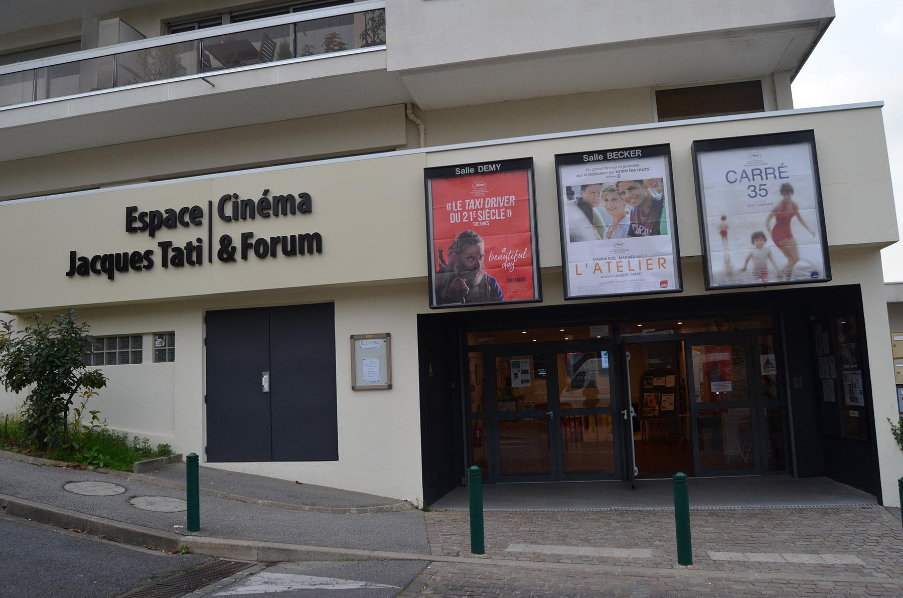 Le cinéma Jacques Tati